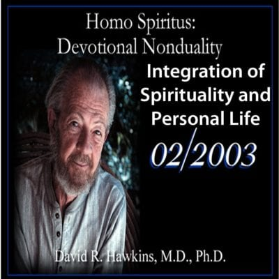 Integration of Spirituality and Personal Life Feb 2003 cd