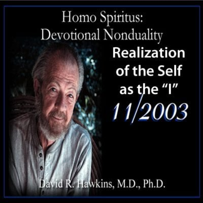 Realization of the Self as the 'I' Nov 2003 dvd