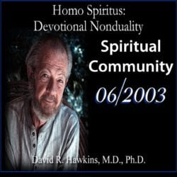 Spiritual Community June 2003 dvd