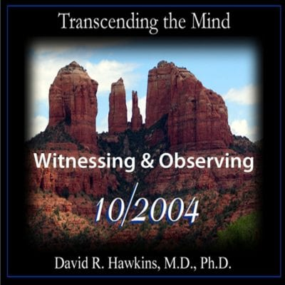 Witnessing and Observing October 2004 cd