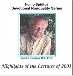 Highlights of the Lectures of 2003